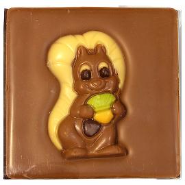 """Шоколад молочный  Белочка""""40%"""" 70г"""