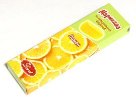 Мармелад Лимон. Торговая марка «Лорд» ВЕС. 110 гр