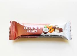 """Батончик в шоколадной глазури """"Кокос-Папайя"""" 50г"""