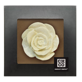 Шоколад  CHСО Роза белая